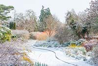 The Winter Garden, Cambridge Botanic Gardens, UK.