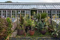 Parham House Glasshouse - front view