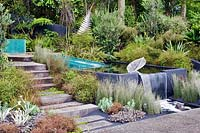 Tourism New Zealand, The 100 Percent Pure New Zealand Garden, Designed by Xanthe White, RHS Chelsea Flower Show, 2006.