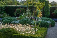 Formal Dutch Garden at Merriments in Sussex