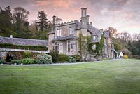 View of Hotel Endsleigh, designed by Sir Jeffry Wyatville in 1810, with grounds part modelled by Humphrey Repton.