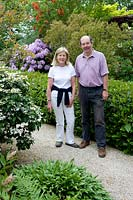 Owners of Kiftsgate Court Gardens, Gloucestershire, UK.