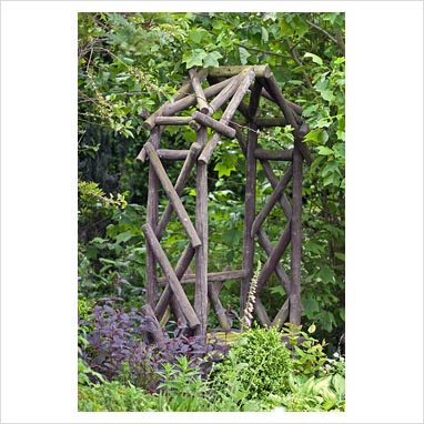 GAP Photos Garden Plant Picture Library Rustic Arch
