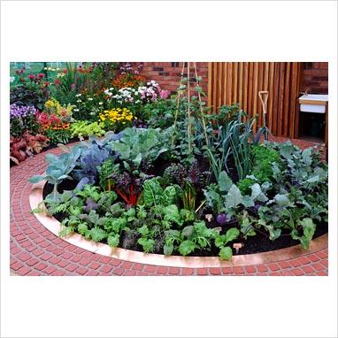 Gap photos garden plant picture library circular for Circular flower garden designs
