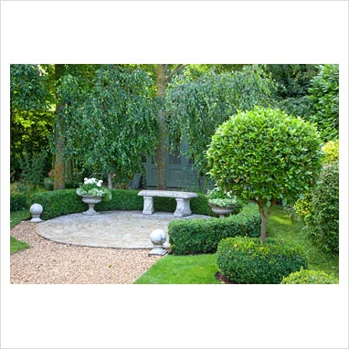 GAP Photos Garden Plant Picture Library Stone Seat