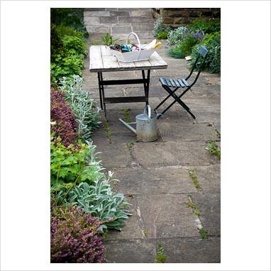 Best belle le immagini della posa del lastre in pietra - Giardini sui terrazzi ...