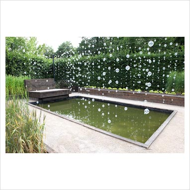 Gap Photos Garden Plant Picture Library Decorations Hanging Over Rectangular Pond The