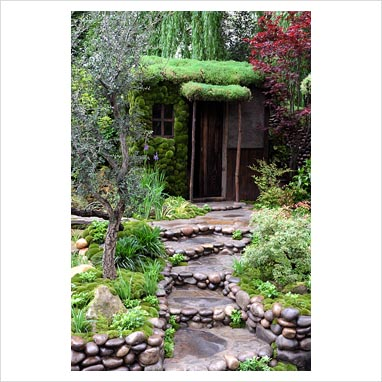 Gap gardens traditional japanese garden satoyama life for Typical japanese garden plants